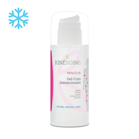 Gel Cryo Amincissant Effet Froid - Ananas, Guarana, Thé Vert - 150 ml
